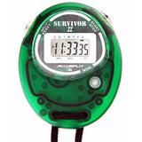 S2XL - Original Survivor 2 Series Chronograph Stopwatch in Transparent Lime Case