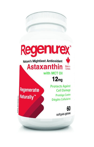 Canadian Astaxanthin - 12 mg with MCT Oil