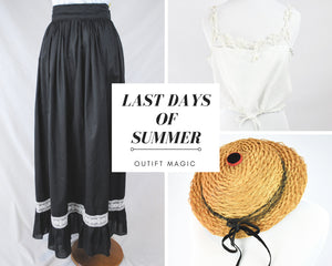 Outfit Magic: Last Days of Summer
