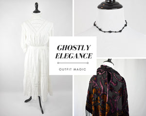 Outfit Magic: Ghostly Elegance