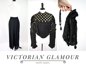 Outfit Magic: Victorian Glamour