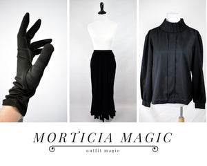 Outfit Magic: Morticia Magic