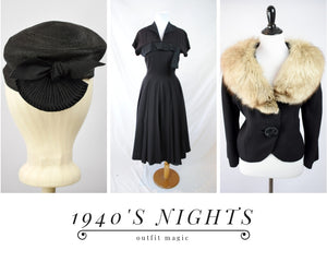 Outfit Magic: 1940s Nights