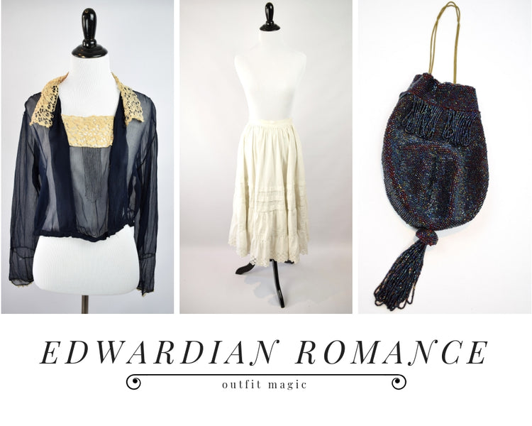 Outfit Magic: Edwardian Romance