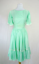 1950/60s Mint Green Day Dress