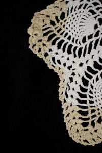 Vintage Accent Trim Crochet Doily