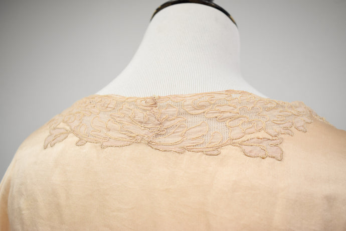 1990s Does the 40s Beaded Soutache Blouse
