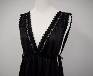 1930/40s Black Tiered Crinoline