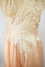 1950s Pink Embellished Party Dress - AS IS