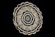 Vintage Scalloped Crochet Doily