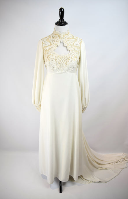 1960/70s House of Bianchi Bridal Gown