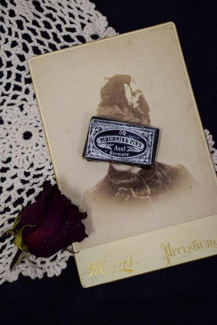 Antique Victorian Mourning Pins