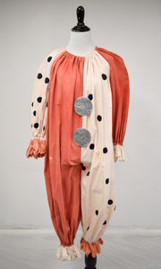 1920/30s Antique Halloween Clown Costume
