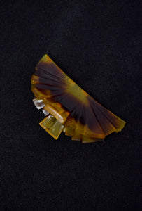 Vintage Tortoiseshell Art Deco Hair Claw