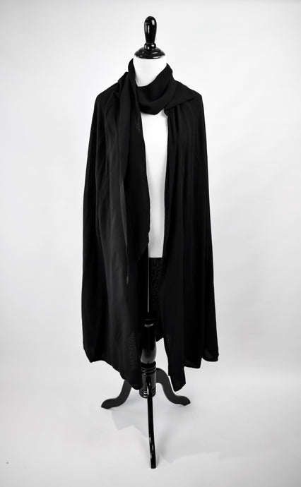 1890s Victorian Mourning Cape