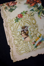 1910s Antique Edwardian Die-Cut Valentine's Day Card