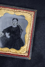 1900s Antique Gold Case Tintype Photo