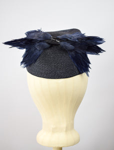 1940s Bluebird Novelty Hat
