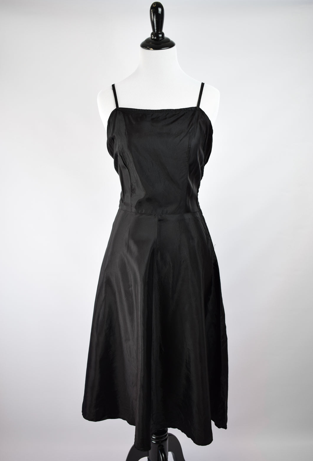 1940s Full Skirted Midi Slip