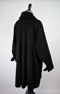1940/50s Blouson Sleeve Double Breasted Coat