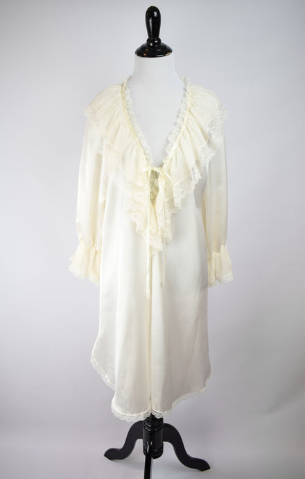 1980s Victorian Style Nightgown