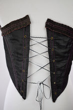 1860s Antique Swiss Waist Cincher