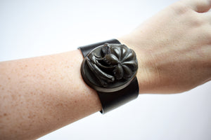 ON LAYAWAY - DO NOT PURCHASE - 1880s Victorian Mourning Cuff Bracelet