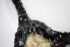 1920s Burlesque Sequin Bra