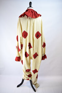 1920s Halloween Clown Costume