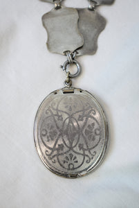 ON LAYAWAY - Do Not Purchase - 1890s Antique Victorian Locket Collar Necklace