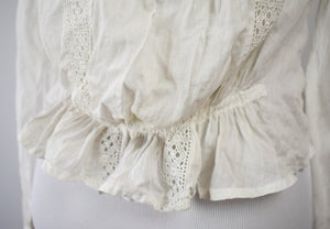 1910s Edwardian Lace Blouse