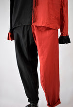 1920s Black & Red Halloween Jester Costume