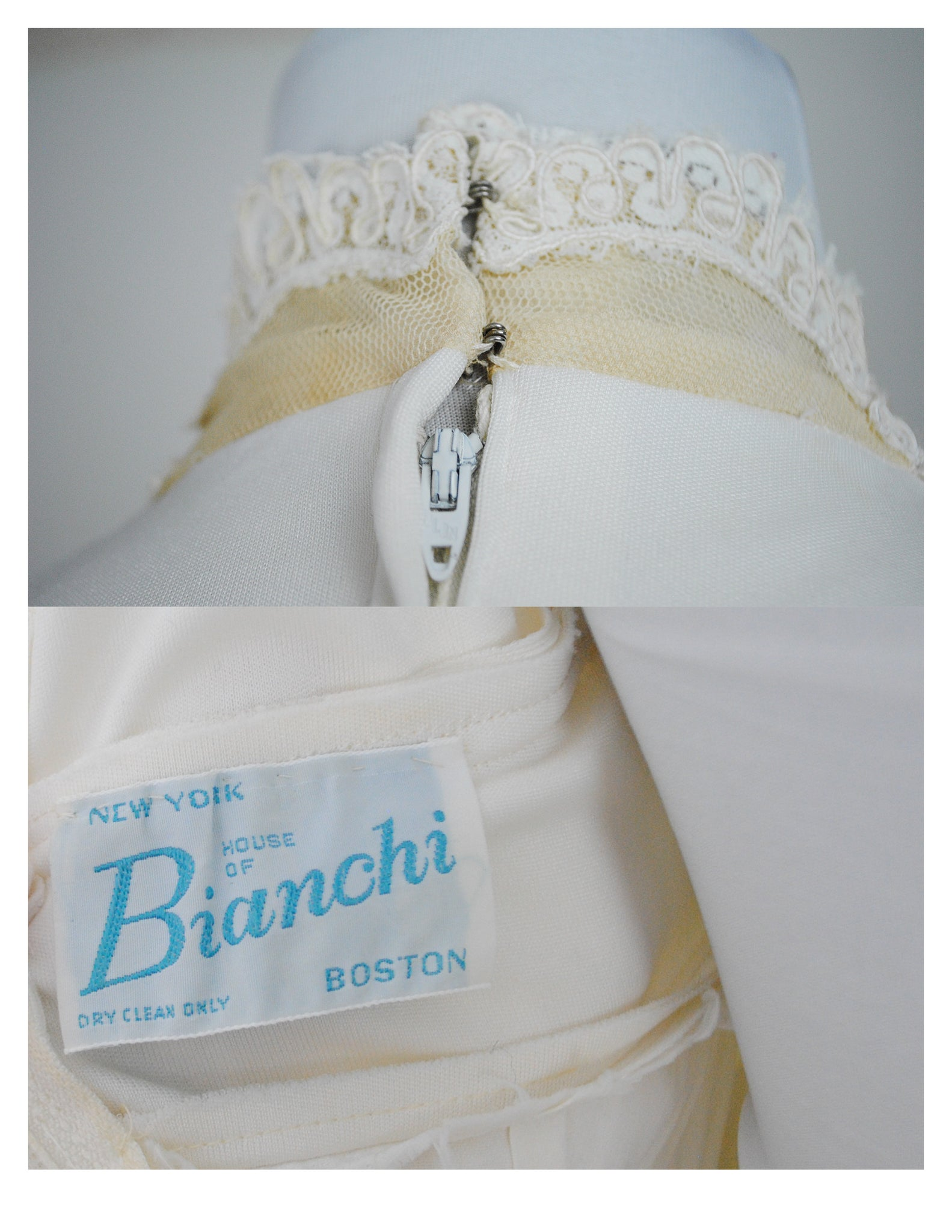 1960/70s House of Bianchi Bridal Gown – Black Cat Clothiers