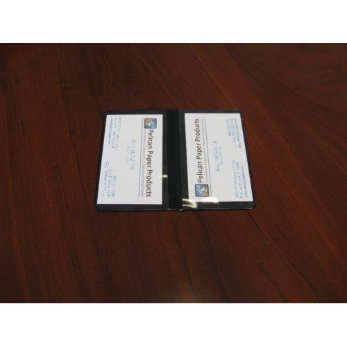 Two Pocket Business Card Holder Item #BCH400
