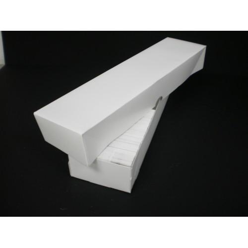 1000 Count Business Card Box Set - Plain White - 13
