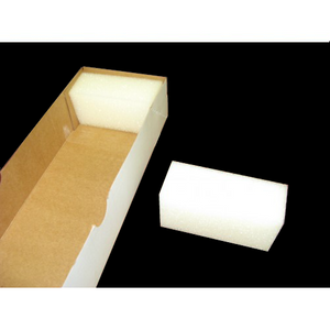 White Foam For Business Card Boxes Item #FOAM250