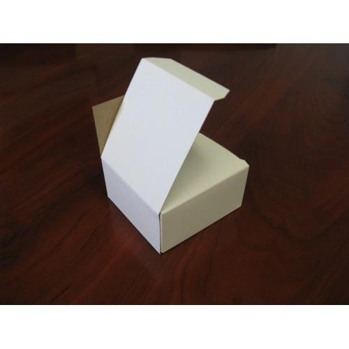 250 Count Business Card Box - White  - 3