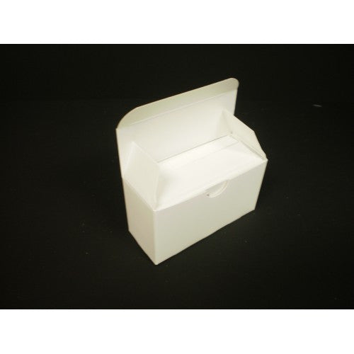 100 Count Business Card Box - White - 1.5
