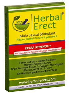 Extra Strength (12 pack) - Herbal Erect  [$11.00 each]