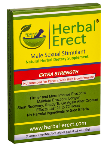Extra Strength (6 pack) - Herbal Erect [$11.50 each]