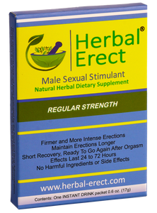 Regular Strength (6 pack) - Herbal Erect [$8.50 each]