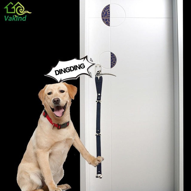 Adjustable Dog Door Bells Perfect For Potty Training Pits Paws