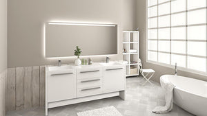 Luna 72 - Vanity Set -  Bagnotti USA Luxury European Bathroom Furniture