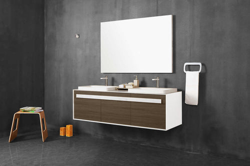 Artevit Trezetto 59 - Bathroom Vanity Set with LED Mirror - Sale