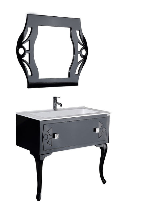 Draco 40 Swarovski Edition - Vanity Set CLEARANCE - Bathroom Vanity Bagnotti USA Luxury European Bathroom Furniture