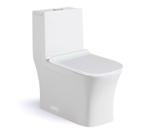 Ceramic Toilet - One Piece Soft Close Seat