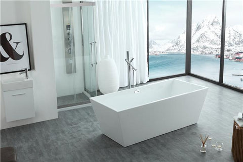 "67"" Double Ended Freestanding Bath Tub WE6813"