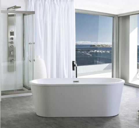 59 Freestanding Soaking Bathtub WE6815-S