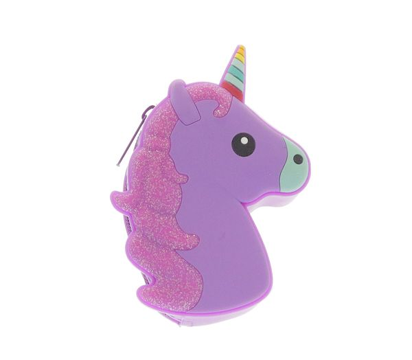 Unicorn Coin Bag - Purple
