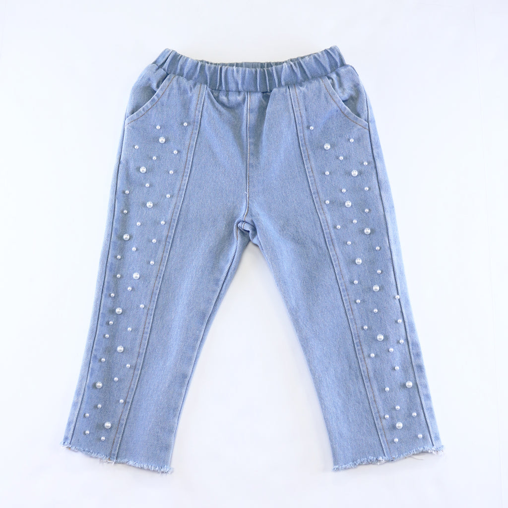 Studded Pearl Jeans